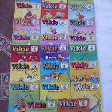 Tebeos: VIKIE EL VIKINGO EDI. ERSA 1975 - 23 TEBEOS - VER IMÁGENES. Lote 101409575