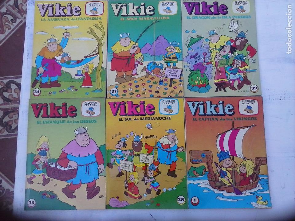 Tebeos: VIKIE EL VIKINGO EDI. ERSA 1975 - 23 TEBEOS - VER IMÁGENES - Foto 3 - 101409575