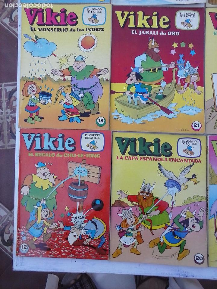 Tebeos: VIKIE EL VIKINGO EDI. ERSA 1975 - 23 TEBEOS - VER IMÁGENES - Foto 5 - 101409575