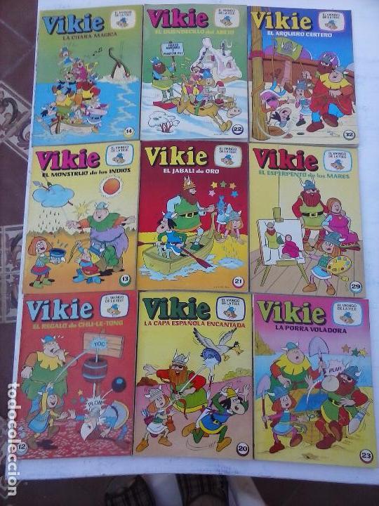 Tebeos: VIKIE EL VIKINGO EDI. ERSA 1975 - 23 TEBEOS - VER IMÁGENES - Foto 6 - 101409575