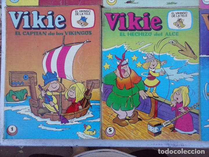 Tebeos: VIKIE EL VIKINGO EDI. ERSA 1975 - 23 TEBEOS - VER IMÁGENES - Foto 8 - 101409575
