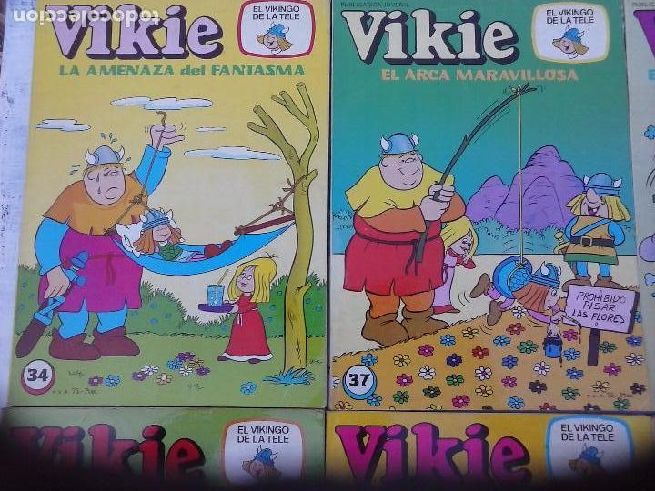 Tebeos: VIKIE EL VIKINGO EDI. ERSA 1975 - 23 TEBEOS - VER IMÁGENES - Foto 10 - 101409575