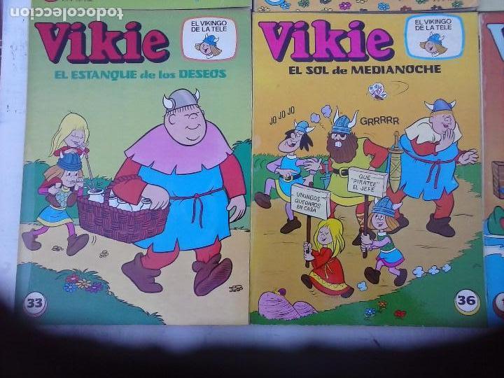 Tebeos: VIKIE EL VIKINGO EDI. ERSA 1975 - 23 TEBEOS - VER IMÁGENES - Foto 11 - 101409575