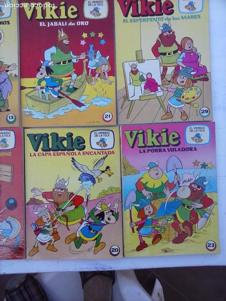 Tebeos: VIKIE EL VIKINGO EDI. ERSA 1975 - 23 TEBEOS - VER IMÁGENES - Foto 12 - 101409575