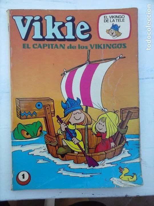 Tebeos: VIKIE EL VIKINGO EDI. ERSA 1975 - 23 TEBEOS - VER IMÁGENES - Foto 14 - 101409575