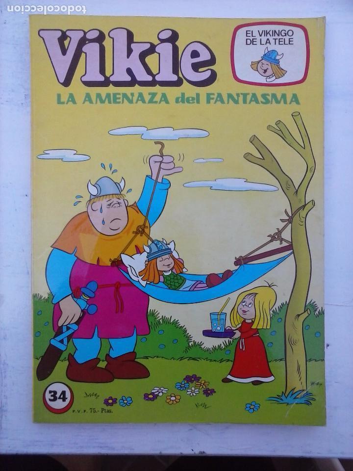 Tebeos: VIKIE EL VIKINGO EDI. ERSA 1975 - 23 TEBEOS - VER IMÁGENES - Foto 23 - 101409575