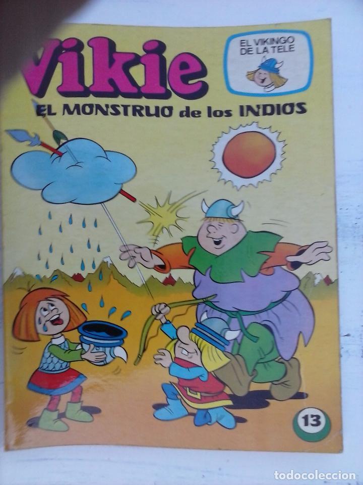 Tebeos: VIKIE EL VIKINGO EDI. ERSA 1975 - 23 TEBEOS - VER IMÁGENES - Foto 30 - 101409575