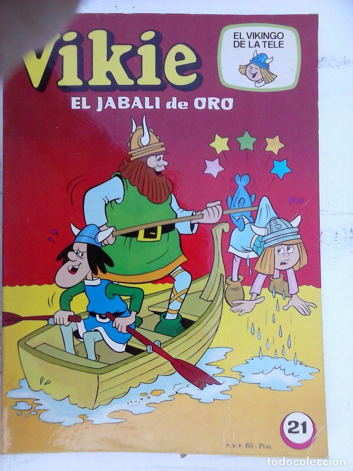 Tebeos: VIKIE EL VIKINGO EDI. ERSA 1975 - 23 TEBEOS - VER IMÁGENES - Foto 31 - 101409575