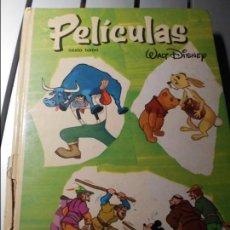 Tebeos: PELICULAS. WALT DISNEY. SEXTO TOMO. ERSA, 1980. COLECCION JOVIAL. TAPA DURA. 320 PAGINAS. EL LOMO LI. Lote 101495363