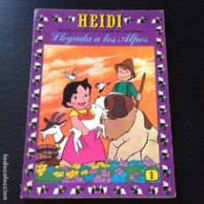 Tebeos: TEBEO HEIDI Nº 1 - LLEGADA A LOS ALPES - EDICIONES RECREATIVAS ERSA - COMIC. Lote 101793435