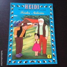 Tebeos: TEBEO HEIDI Nº 4 - TRISTES NOTICIAS - EDICIONES RECREATIVAS ERSA - COMIC. Lote 101793595