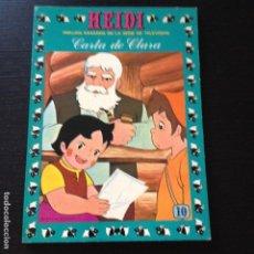 Tebeos: TEBEO HEIDI Nº 10 - CARTA DE CLARA - EDICIONES RECREATIVAS ERSA - COMIC. Lote 101793967
