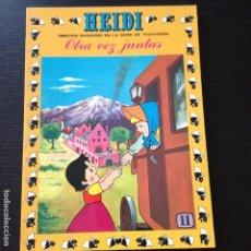 Tebeos: TEBEO HEIDI Nº 11 - OTRA VEZ JUNTAS - EDICIONES RECREATIVAS ERSA - COMIC. Lote 101793987