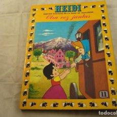 Tebeos: HEIDI Nº 11, EDITORIAL ERSA. Lote 102772323