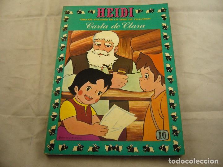 HEIDI Nº 10 CARTA A CLARA. (Tebeos y Comics - Ersa)