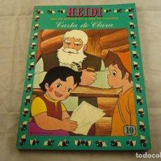 Tebeos: HEIDI Nº 10 CARTA A CLARA.. Lote 102772543