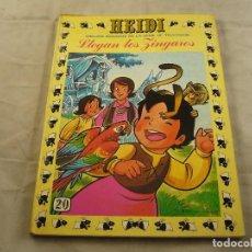 Tebeos: TEBEO HEIDI Nº 20 - LLEGAN LOS ZINGAROS - EDICIONES RECREATIVAS ERSA - COMIC. Lote 102773427