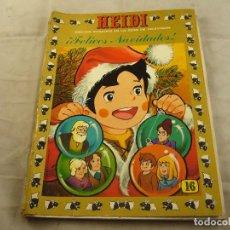 Tebeos: TEBEO HEIDI Nº 16 - ¡FELICES NAVIDADES! - EDICIONES RECREATIVAS ERSA - COMIC. Lote 102774163