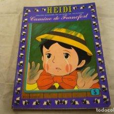 Tebeos: TEBEO HEIDI Nº 5 - CAMINO DE FRANCFORT - EDICIONES RECREATIVAS ERSA - COMIC. Lote 102775247