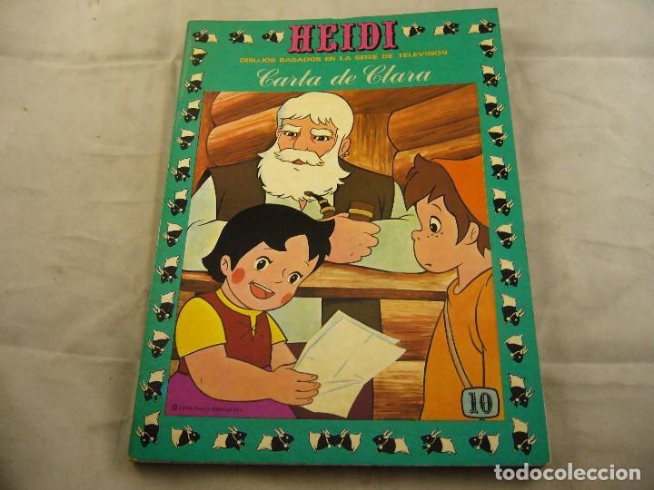 HEIDI Nº 10 CARTA A CLARA (Tebeos y Comics - Ersa)