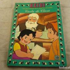 Tebeos: HEIDI Nº 10 CARTA A CLARA. Lote 102775543