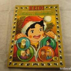 Tebeos: TEBEO HEIDI Nº 16 - ¡FELICES NAVIDADES! - EDICIONES RECREATIVAS ERSA - COMIC. Lote 102776431