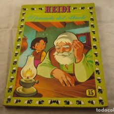 Tebeos: HEIDI Nº 15, EDITORIAL ERSA. Lote 102777699