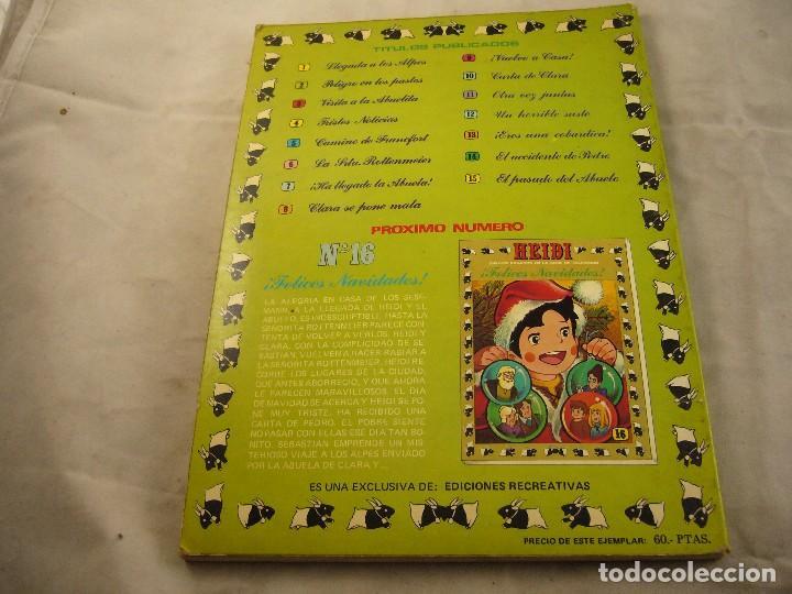 Tebeos: HEIDI Nº 15, EDITORIAL ERSA - Foto 2 - 102777699