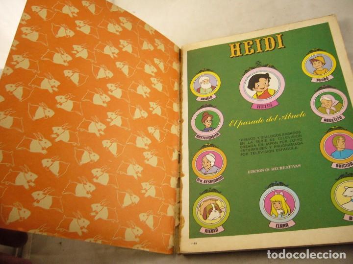 Tebeos: HEIDI Nº 15, EDITORIAL ERSA - Foto 3 - 102777699