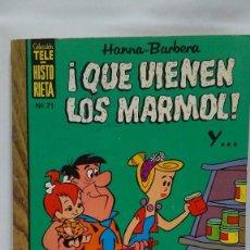 Tebeos: COLECCIÓN TELE-HISTORIETA Nº 71 - QUE VIENEN LOS MARMOL - HANNA-BARBERA - ERSA 1975. Lote 103680391