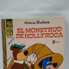 Tebeos: COLECCIÓN TELE-HISTORIETA Nº 43 - EL MONSTRUO DE HOLLYROCA - HANNA-BARBERA - ERSA 1972. Lote 103680983