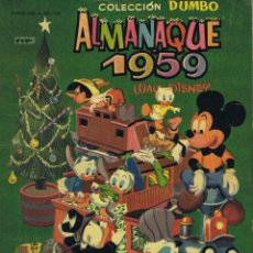 Tebeos: DUMBO ALMANAQUE 1959. Lote 103715915