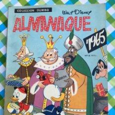 Tebeos: DUMBO - ALMANAQUE PARA 1965 - ERSA - WALT DISNEY. Lote 104303132