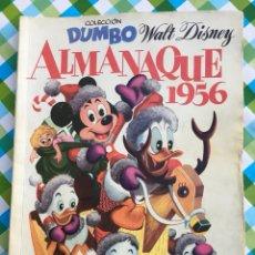 Tebeos: DUMBO - ALMANAQUE PARA 1956 - ERSA - WALT DISNEY. Lote 104304566