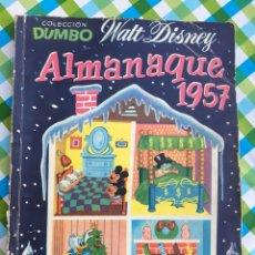 Tebeos: DUMBO - ALMANAQUE PARA 1957 - ERSA - WALT DISNEY. Lote 104304963
