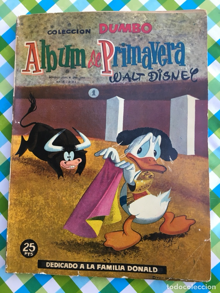 DUMBO - ÁLBUM PRIMAVERA 1959 - ERSA - WALT DISNEY (Tebeos y Comics - Ersa)