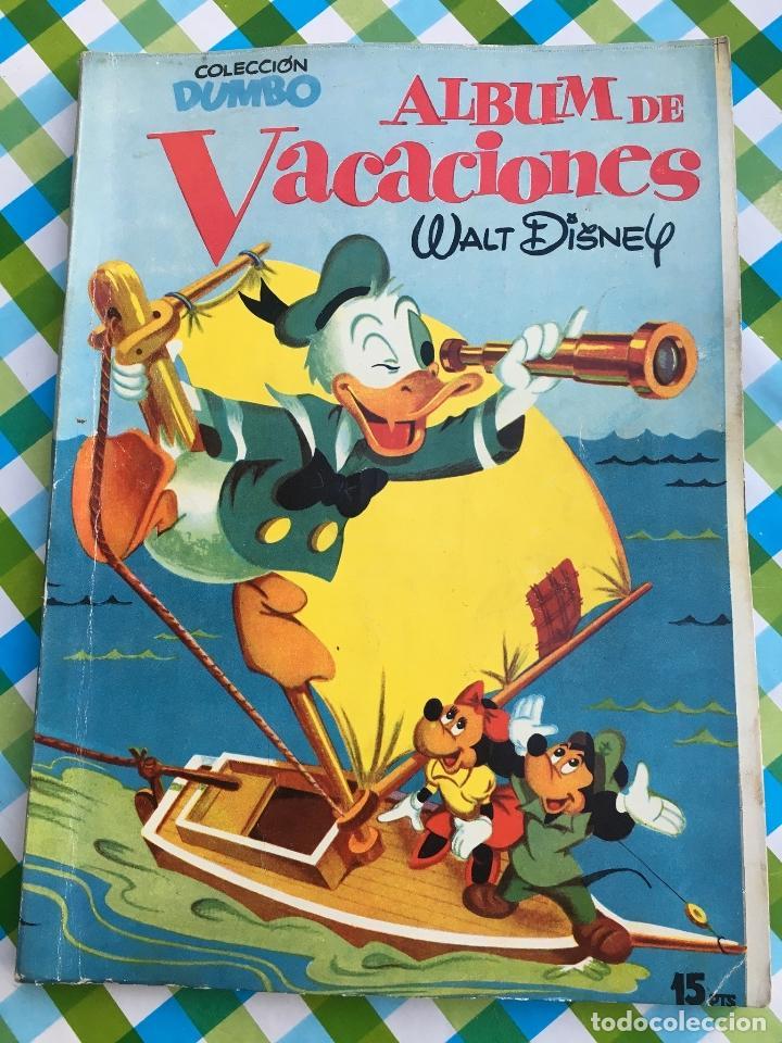 DUMBO - ÁLBUM DE VACACIONES 1956 - ERSA - WALT DISNEY (Tebeos y Comics - Ersa)