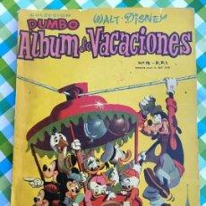 Tebeos: DUMBO - ÁLBUM DE VACACIONES 1959 - ERSA - WALT DISNEY. Lote 104319043