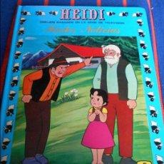 Tebeos: HEIDI. 4. TRISTES NOTICIAS. DIBUJOS BASADOS EN LA SERIE DE TELEVISION. EDICIONES RECREATIVAS, 1987. . Lote 104674543