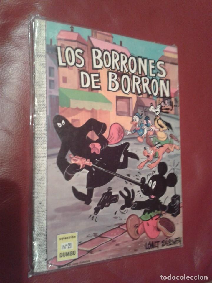 DUMBO COMIC ERSA Nº 21 LOS BORRONES DE BORRON EDICION NUMEROS ROMANOS XXI (Tebeos y Comics - Ersa)