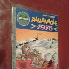 Tebeos: DUMBO COMIC DISNEY ERSA Nº 132 ALMANAQUE 1976. Lote 104766823