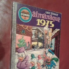 Tebeos: DUMBO COMIC DISNEY ERSA Nº 119 ALMANAQUE 1975. Lote 104767463