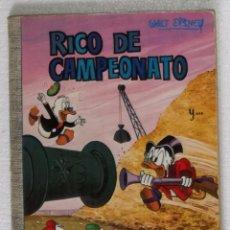 Tebeos: COMIC DUMBO, Nº 60: RICO DE CAMPEONATO - ERSA, WALT DISNEY, 1970. Lote 105556375