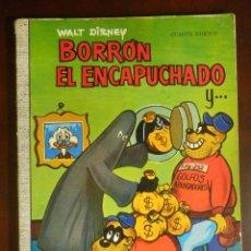 Tebeos: TEBEO - COMIC - COLECCIÓN DUMBO - WALT DISNEY - BORRÓN EL ENCAPUCHADO Y... - Nº 12 -. Lote 107763479