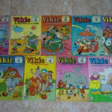 Tebeos: LOTE 9 TEBEOS COMIC VIKIE EL VIKINGO. EDICIONES RECREATIVAS ERSA. AÑOS 70. VER NÚMEROS. Lote 49037816