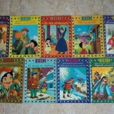 Tebeos: LOTE 9 TEBEOS HEIDI (1976-1977) DE EDICIONES RECREATIVAS ERSA. DIBUJOS BASADO EN LA SERIE TELEVISIÓN. Lote 50449103