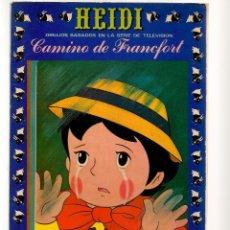 Tebeos: HEIDI. Nº 5. CAMINO DE FRANCFORT. EDICIONES RECREATIVAS (ERSA) (ST/A1). Lote 112141367