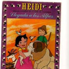Tebeos: HEIDI. Nº 1. LLEGADA A LOS ALPES. EDICIONES RECREATIVAS (ERSA) (ST/A1). Lote 112141467