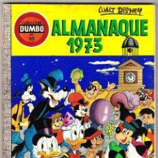 Tebeos: COLECCION DUMBO Nº 95 - ALMANAQUE 1973. Lote 112405835