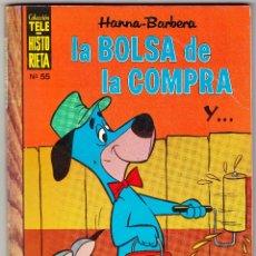 Tebeos: TELE-HISTORIETA Nº 55 - LA BOLSA DE LA COMPRA. Lote 112678711